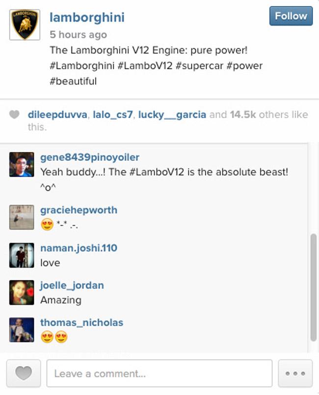 Lamborghini on Instagram