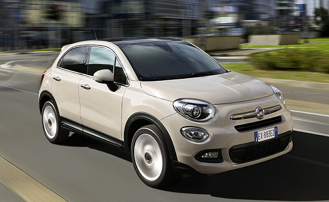 fiat rolls out 500x small crossover. Black Bedroom Furniture Sets. Home Design Ideas
