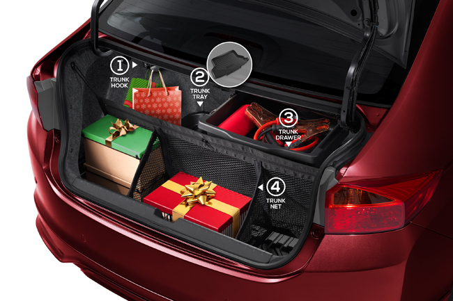 Honda City holiday organizing package