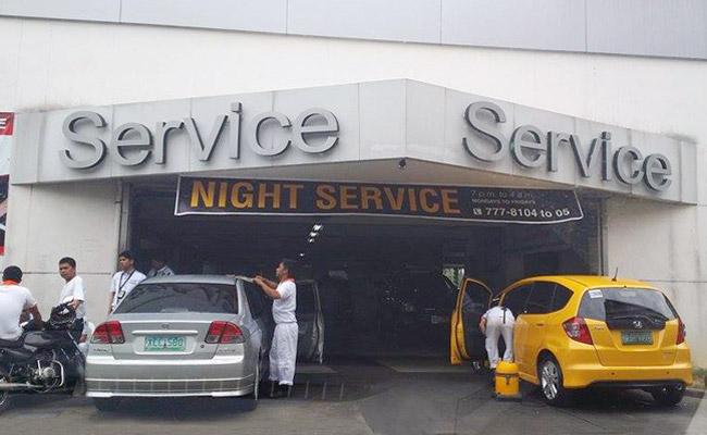 Honda Cars Global City night service