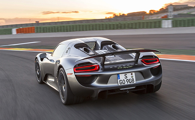 TopGear.com.ph Philippine Car News - Porsche issues recall for 918 Spyder