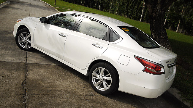 Nissan Altima 3.5L SL CVT review in the Philippines