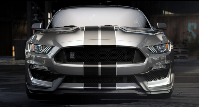 All-new Shelby GT350 Mustang