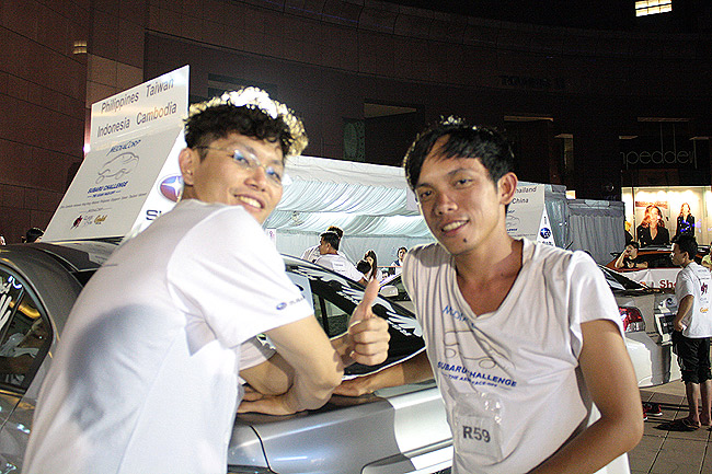 2014 Subaru Palm Challenge: Will you stay awake for 82 hours to win a car? This man did