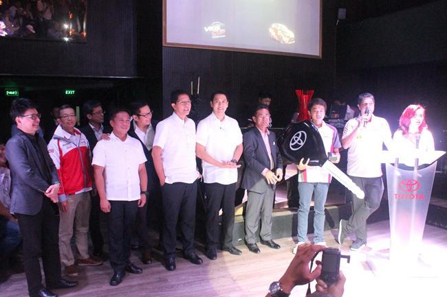 2014 Toyota Vios Cup winners