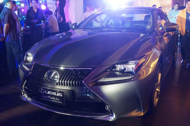 Lexus RC launch