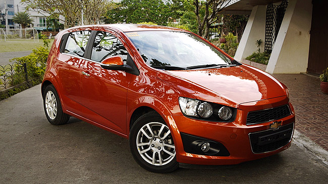 Chevrolet Sonic LTZ 1.4 AT review in the Philippines
