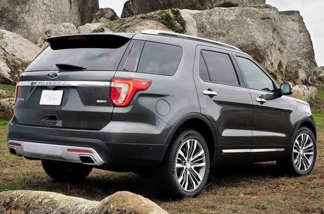 Redesigned Ford Explorer