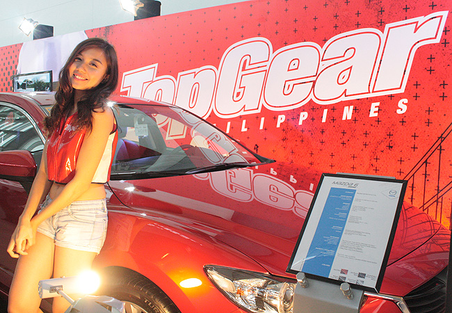 TopGear.com.ph Philippine Car News - 21 images: The girls of the 2014 Manila Auto Salon