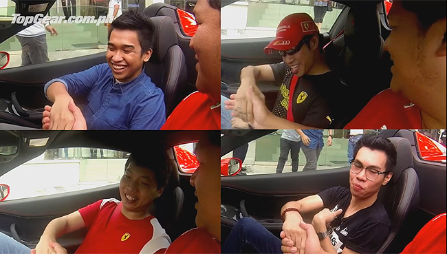 Video: We gave readers the chance to ride a supercar