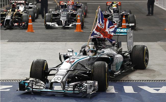 TopGear.com.ph Philippine Car News - Lewis Hamilton is 2014 Formula 1 world champion