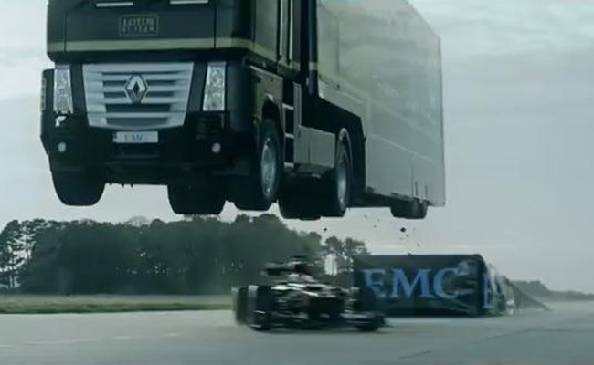 TopGear.com.ph Philippine Car News - Lotus F1 Team sets Guinness World Record for longest truck jump