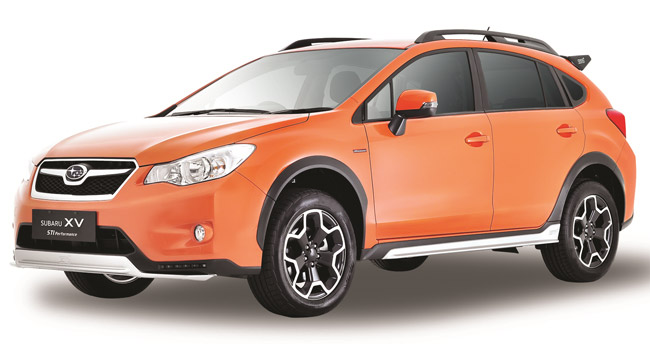 Subaru XV STI Performance variant