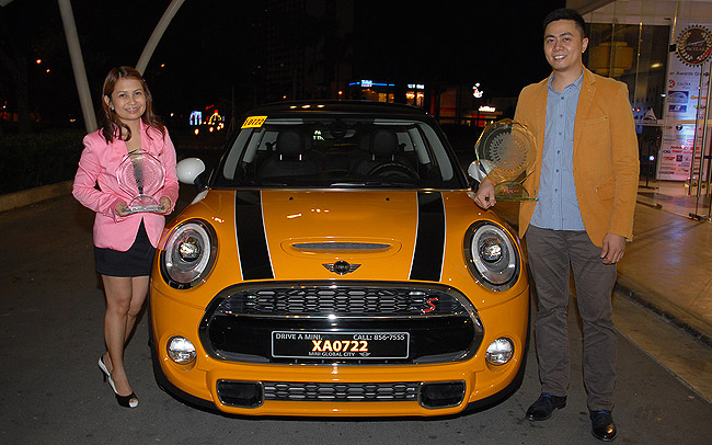 Mini Cooper S named 2014-2015 Car of the Year-Philippines