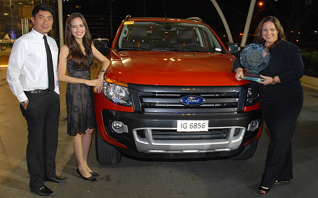 Ford Ranger Wildtrak named Truck of the Year-Philippines