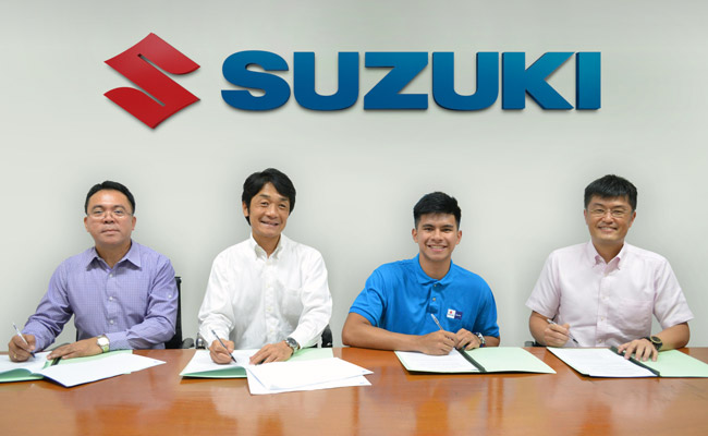 Kiefer Ravena signs with Suzuki Philippines