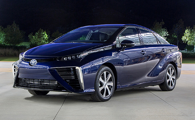 TopGear.com.ph Philippine Car News - Toyota's production-model fuel-cell sedan now has a name