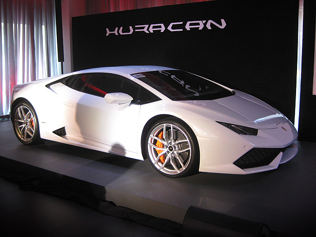Lamborghini Huracan launched in PH
