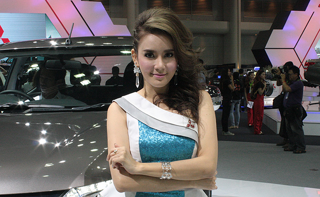 TopGear.com.ph Philippine Car News - 15 images: The girls of the 2014 Thai Motor Expo