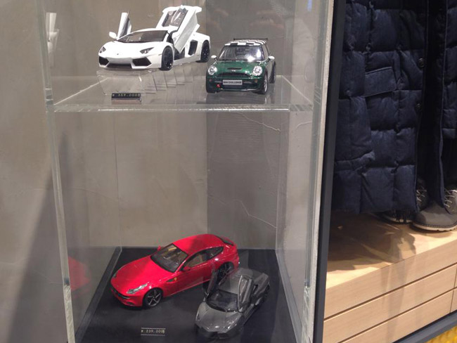 Top Gear store in South Korea
