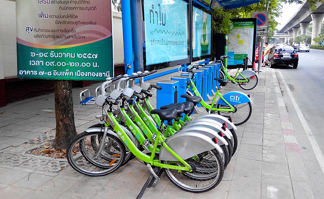 TopGear.com.ph Philippine Car News - Around The Globe: Thailand's Pun Pun bike-sharing program