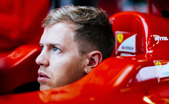 TopGear.com.ph Philippine Car News - Sebastian Vettel starts his career with Scuderia Ferrari