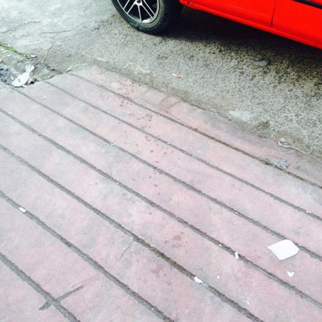 Bong Hilario murder scene at H3 Autoworks