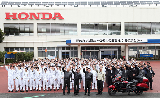 TopGear.com.ph Philippine Car News - Honda produces 300 millionth motorcycle