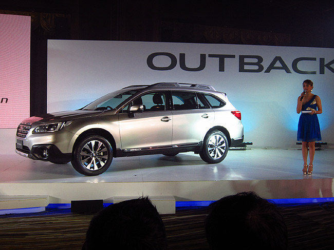 All-new Subaru Legacy and Outback launched in Thailand