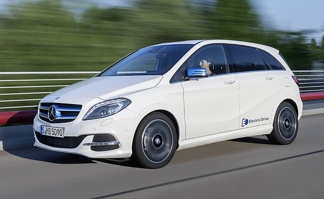 TopGear.com.ph Philippine Car News - Mercedes-Benz's first volume-production electric car now on sale