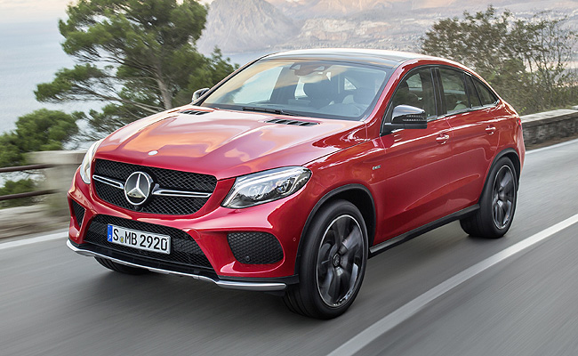 TopGear.com.ph Philippine Car News - The GLE Coupe is Mercedes-Benz's BMW X6 fighter
