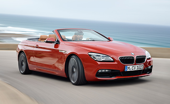 TopGear.com.ph Philippine Car News - BMW updates 6-Series with new Convertible, Coupe and Gran Coupe