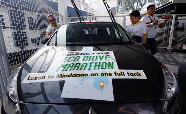 Mitsubishi Mirage G4 Eco Drive Marathon