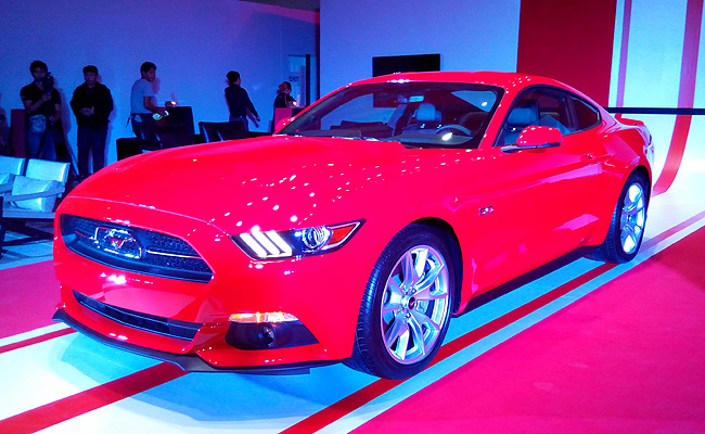 TopGear.com.ph Philippine Car News - Ford PH launches all-new Mustang by bringing in 50 Years Limited Edition model