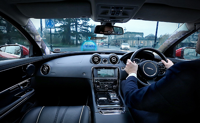 TopGear.com.ph Philippine Car News - Jaguar Land Rover working on transparent pillar, ghost car navigation