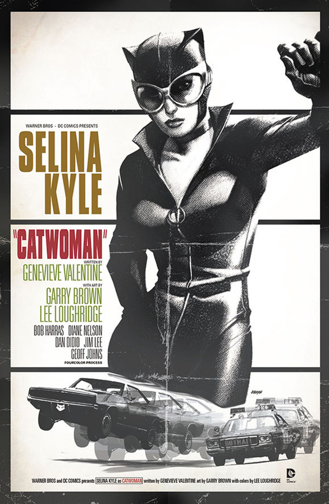 Catwoman as Bullitt