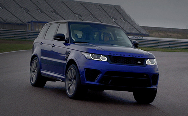 TopGear.com.ph Philippine Casr News - Video: Land Rover shows Range Rover Sport SVR drives like a sports car