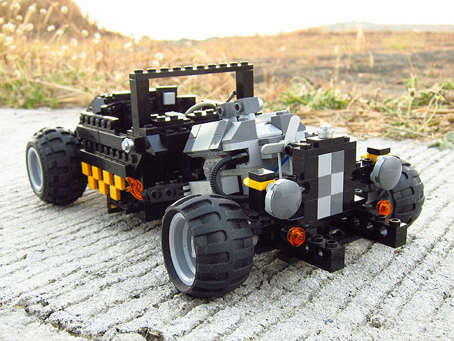 Hot rod Lego