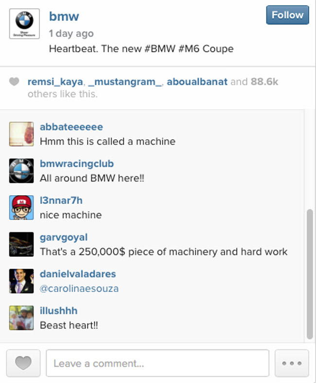 BMW on Instagram