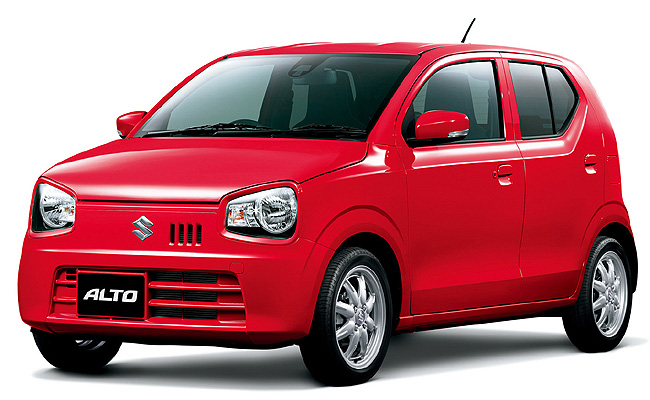 Suzuki Launches New Alto In Japan