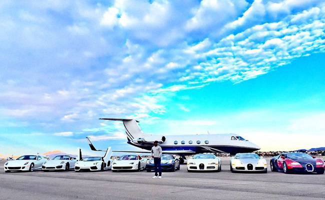 TopGear.com.ph Philippine Car News - Floyd Mayweather shows off car collection on Instagram