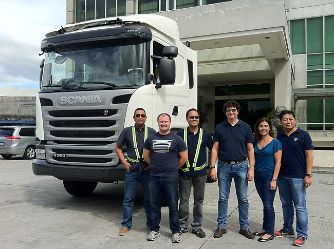 TopGear.com.ph Philippine Car News - First locally-assembled Scania truck rolls off production line