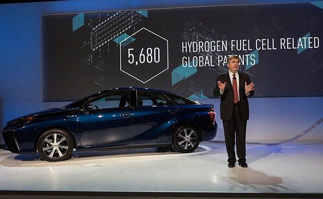 TopGear.com.ph Philippine Car News - Toyota opens up patents for its fuel cell electric vehicle technology