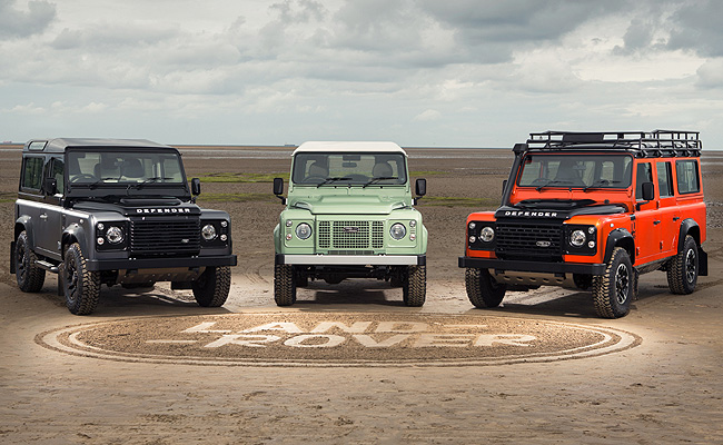 TopGear.com.ph Philippine Car News - Land Rover to create three limited-edition Defender models