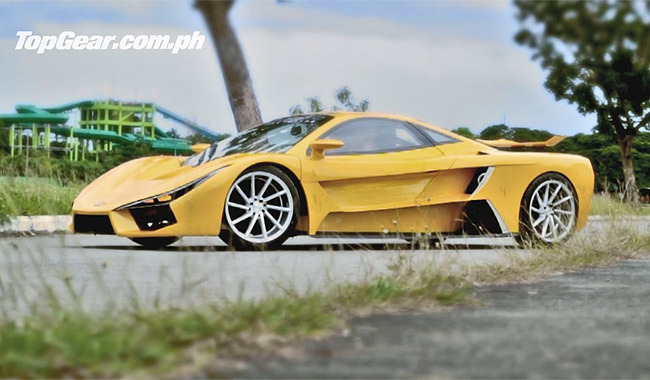Video: Meet the Pinoy supercar by Aurelio Concepts