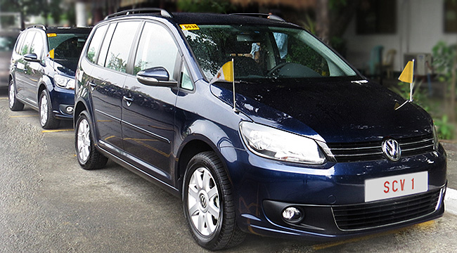 TopGear.com.ph Philippine Car News - Pope Francis to use Volkswagen Touran in PH visit as well