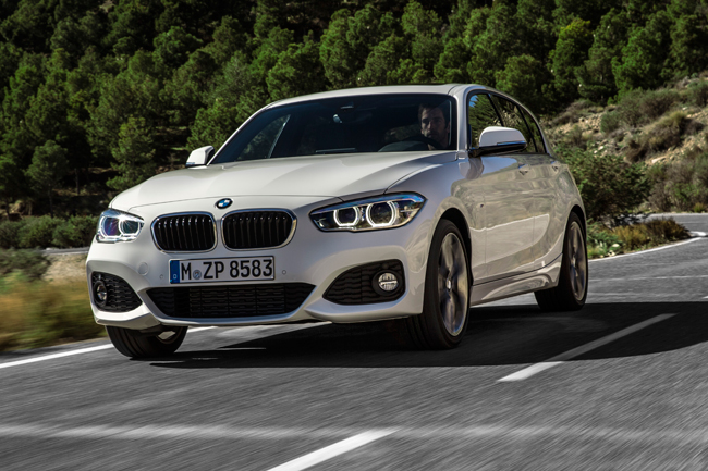 BMW 1-Series refresh