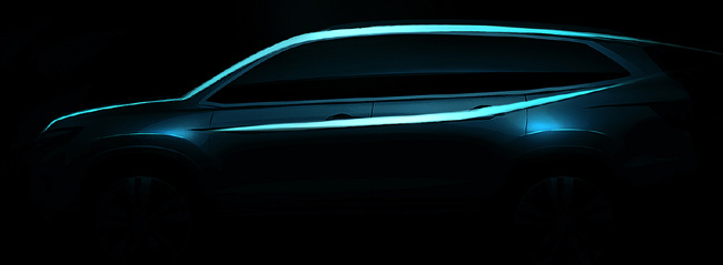 TopGear.com.ph Philippin Car News - Next-gen Honda Pilot to debut at 2015 Chicago Auto Show
