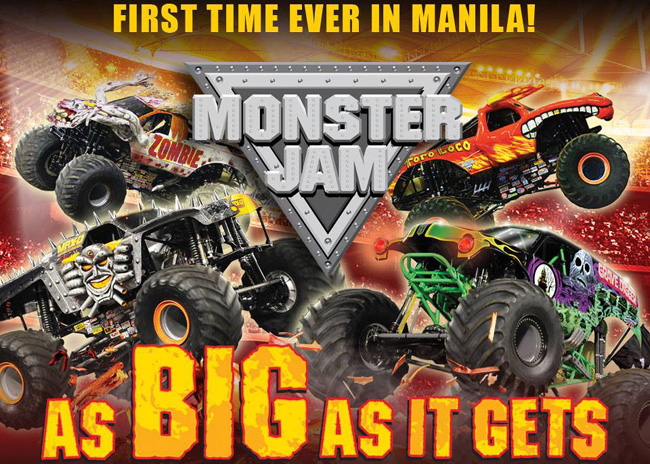 TopGear.com.ph Philippine Car News - Monster Jam is officially happening