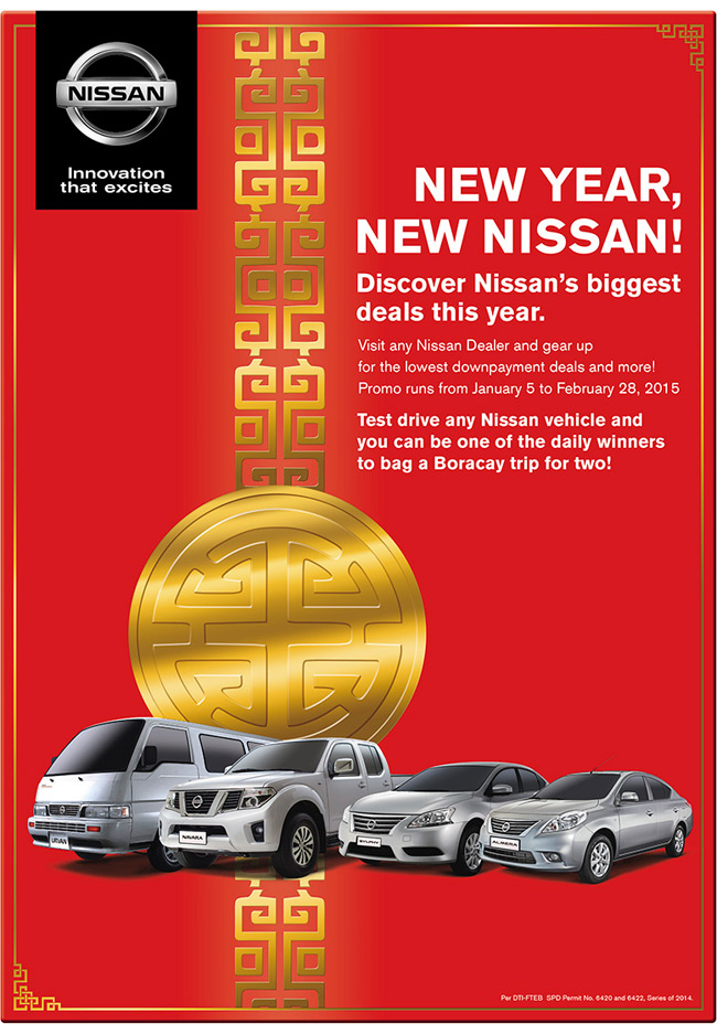 Nissan Philippines promo
